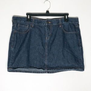 Old Navy Denim Skirt Womens 14 Blue Jean